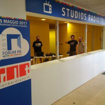 Radio Libera Tutti a FORUM PA 2017